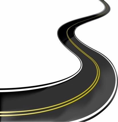реалистичные вектор шоссе