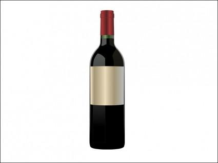 botol anggur merah