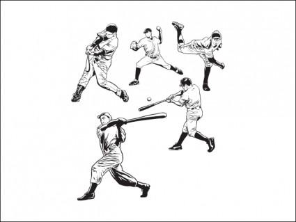 Игроки в бейсбол