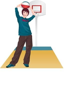 vector sport basket-ball