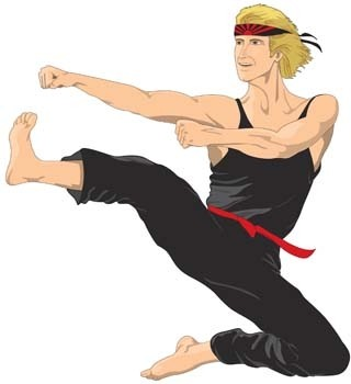 Karate-Vektor