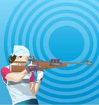 esporte shoting e tiro com arco