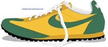 vector de zapatos de deporte