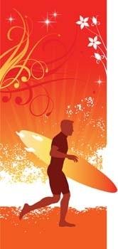 Surfen Sport vektor