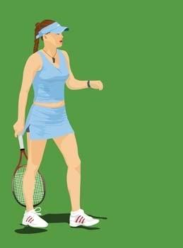 вектор спорт теннис