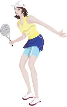 テニス スポーツ ベクトル