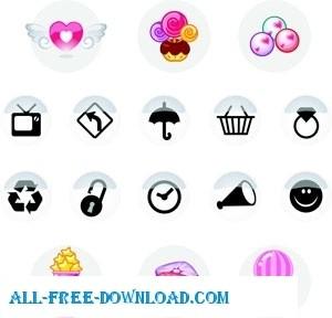 бесплатно крошечные векторные иконки
