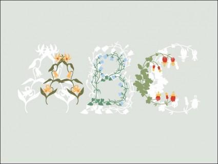 abc の花
