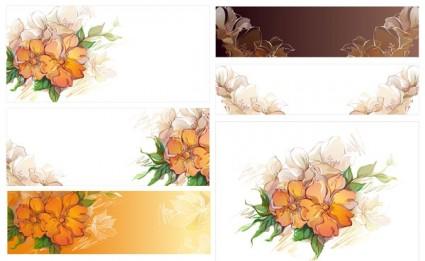 vector de flores de sueño