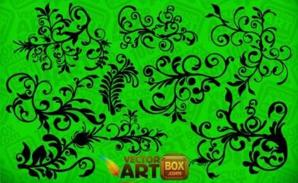 arte floral clip