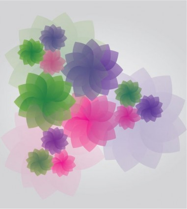 vector de flor