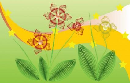 Infografía de flores