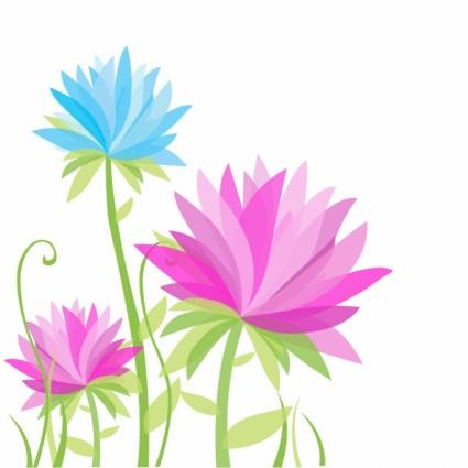 Keindahan Bunga Bunga Abstrak Free Download