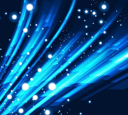 синий абстрактный Векторный фон
