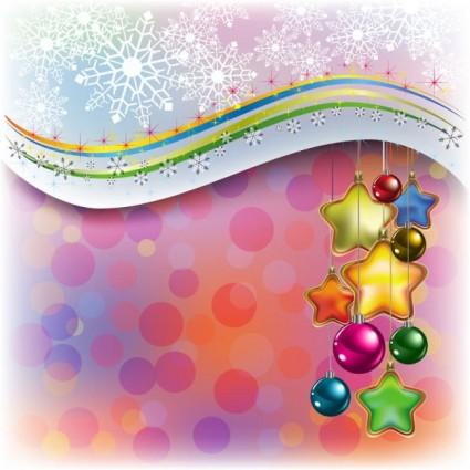hermoso vector de elementos de decoración de Navidad