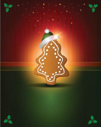 hermoso vector de etiquetas de Navidad