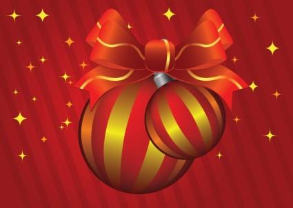 bolas de Natal de vetor