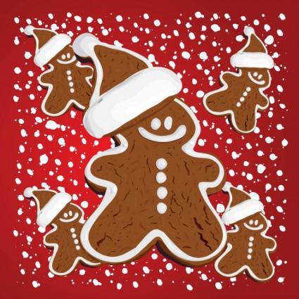 pan de jengibre de Navidad