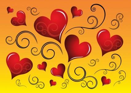 नि: शुल्क हृदय ग्राफिक्स वैक्टर