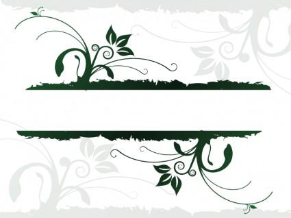 Desain organik jus mengalir banner