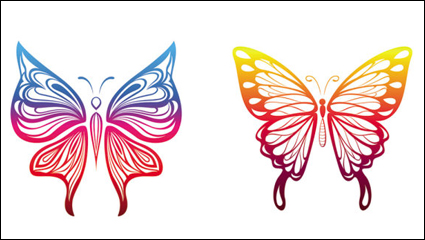 紙の切断を蝶 - ベクトル