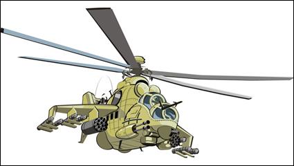 ต่อสู้ helicopters - Doe - Vector