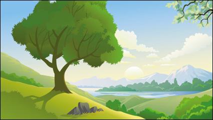 Bellos paisajes 05 - vector