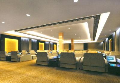 Lobby in a Spa Salon