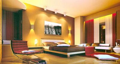 Bedroom include lighting