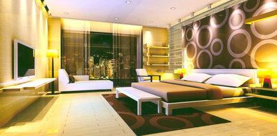 Comfortable Bedroom _ Purple