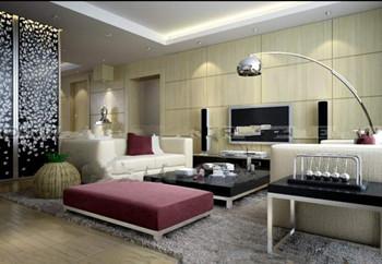 Small modern minimalist living room