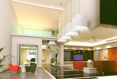Vestibule in a Modern Residence
