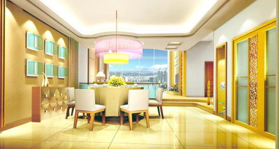 Bright Dining Room