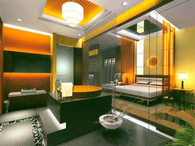 Hotel Room With Spa