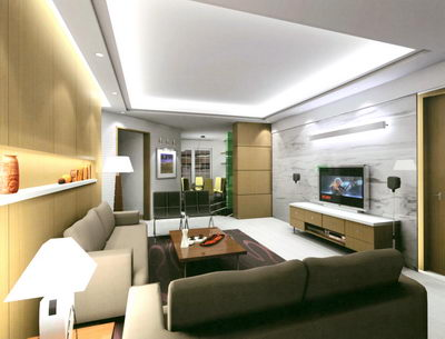 living room design modern style
