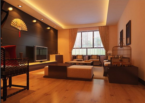 Modern Chinese-style living room