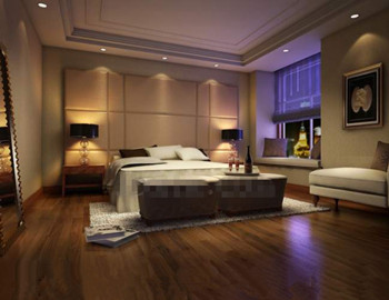 Modern luxury and comfortable bedroom