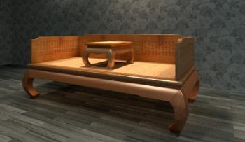Ocean bed 3D model