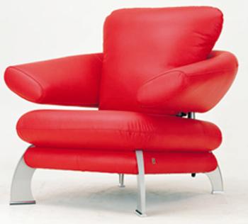 European fashion single sofa 3D models