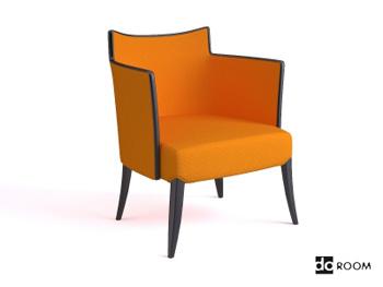 Fashion yellow armchair