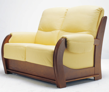 Modern double seats sofa