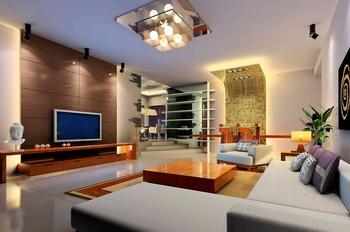 Modern dwarf decoration living room