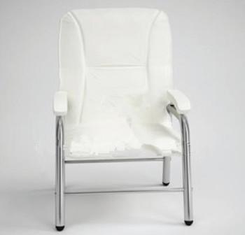 Modern white single sofa chair