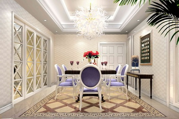 European style modern palace dining room