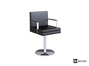 Metal handrails cortex swivel chair