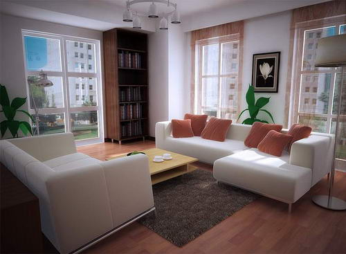 living room, indoor space  libraries for