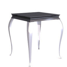 Retro black European - style coffee table