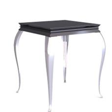 Retro black European - style coffee table