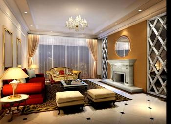 Brilliant and elegant modern living room
