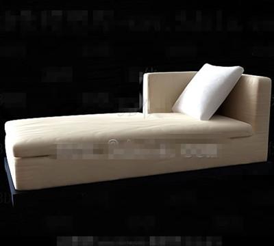 Beige comfortable single sofa chair